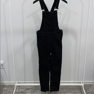 Black h&m Skinny leg overalls